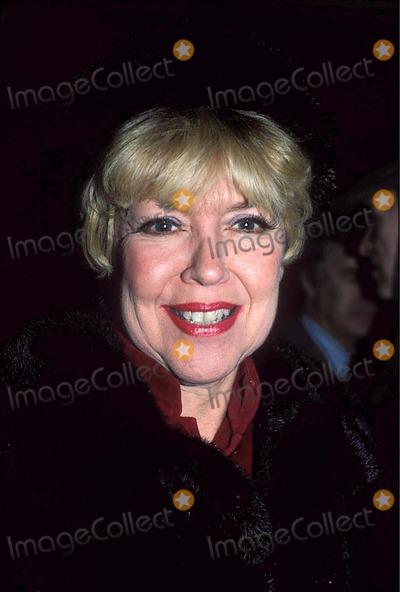 Dorothy Loudon Photo - Photo Jonathan Green Globe Photos Inc 1986 Dorothy Loudon Dorothyloudeonretro