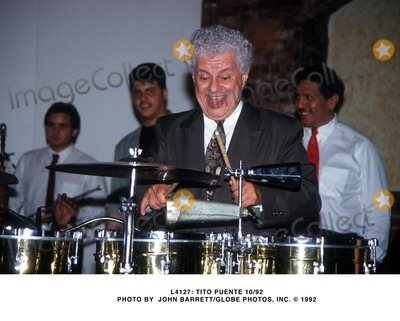 Tito Puente Photo -  Tito Puente 1092 Photo by John BarrettGlobe Photos Inc