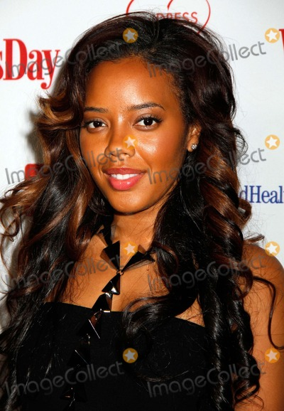 Angela Simmons Photo - Angela Simmons Arrives For the Womans Day Red Dress Awards at Jazz at Lincoln Center in New York on February 15 2012 Photo by Sharon NeetlesGlobe Photos Inc