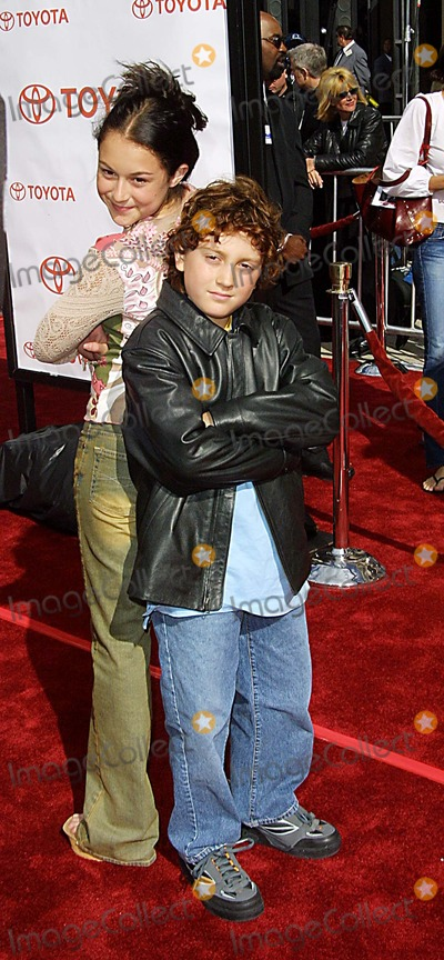 Daryl Sabara Photo - Alexa Vega and Daryl Sabara 20th Anniversary Version of Et the Extra Terrestrial - Premiere Shrine Auditorium Los Angeles CA March 16 2002 Photo by Nina PrommerGlobe Photos Inc2002