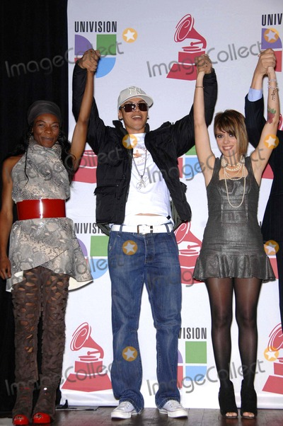 Buika Photo - Buika Flex and Kany Garcia During the Announcement of the Nominations For the 9th Annual Latin Grammy Awards Held at the House of Blues on September 10 2008 in Los Angeles Photo Michael Germana- Globe Photos Inc 2008