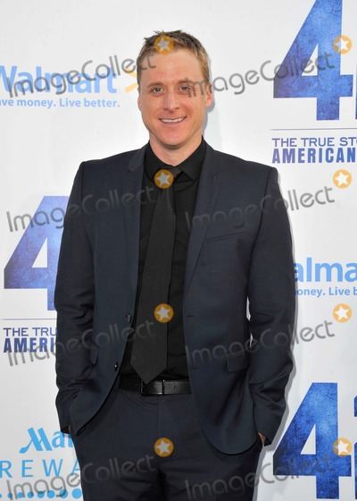 Alan Tudyk Photo - Alan Tudyk attending the Los Angeles Premiere of Warner Bros Pictures and Legendary Pictures 42 Held at the Tcl Chinese Theatre in Hollywood California on April 9 2013 Photo by D Long- Globe Photos Inc