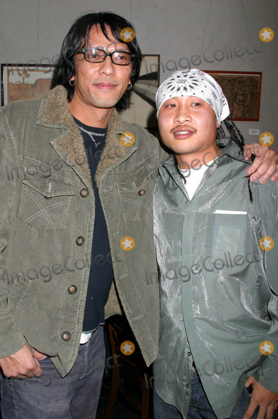 Antoneus Maximus Photo - Birthday Party For Director Hyunjin Jo Cinespacehollywood California 1262004 Photo by Clinton HwallaceipolGlobe Photos 2004 Timothy Linh Bui ( Director of Green Dragon) with Antoneus Maximus ( Rapper - Nuthouze and Black Eye Peas )