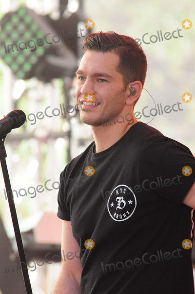 Andy Grammer Photo - Andy Grammer Rockefeller Center NY 07-24-15 Photo by - Ken Babolcsay IpolGlobe Photos