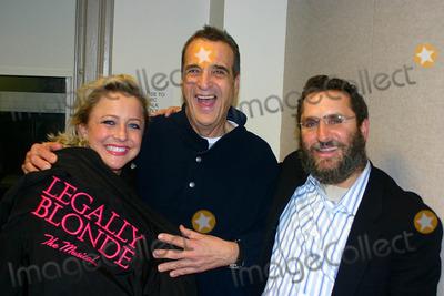 Nikki Snelson Photo - Appear on the Joey Reynolds Show New York City 12-06-2007 Photo by Mark Kasner-Globe Photos Inc 2007 Nikki Snelson Joey Reynolds and Rabbi Shmuley