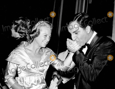 Danny Thomas Photo - June Allyson with Danny Thomas Supplied by Globe Photos Inc