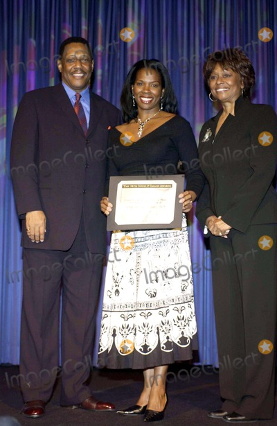 Tyra Ferrell Photo - 36TH ANNUAL NAACP IMAGE AWARDS NOMINEE LUNCHEON SPONSORED BY HARLEY DAVIDSON AND DAIMLERCHRYSLER AT THE BEVERLY HILTON HOTEL ON MARCH 5 2005 HOSTED BY DUANE MARTIN 7 WIFE TISHA CAMPBELL- MARTINDENNIS HAYES TYRA FERRELL AND CLAYOLA BROWNPHOTO BY VALERIE GOODLOE-GLOBE PHOTOS INC  2005K42054VG