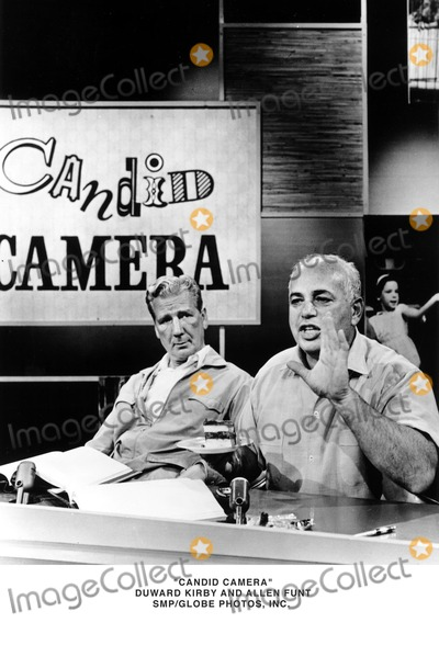 Allen Funt Photo - Candid Camera Dunward Kirby and Allen Funt Smpgobe Photosinc