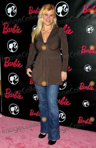 Allison Sweeney Photo - Barbies 50th Birthday Party Held at the Real Barbie Dreamhouse in Malibu California on March 09 2009 Photo David Longendyke-Globe Photos Inc2009 Image Allison Sweeney