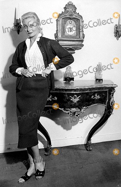 Michele Morgan Photo - Michele Morgan 1957 975 Photo by Giancolombo-ipol-Globe Photos Inc