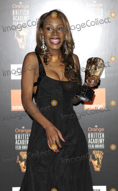 Amma Asante Photo - 02-12-2005 001170 Bafta Film Awards 2005 Pressroom -Odeon Leicester Square London Photo by Henry Davenport-globelink-Globe Photos 2005 Amma Asante