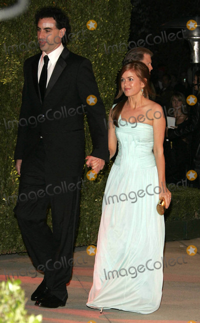 Ali G Photo - Sasha Baron Cohen Ali G  Isla Fisher Vanity Fair Party 2006 Oscars Academy Awards 03-05-2006 K47133 Photo by Allstar-Globe Photos