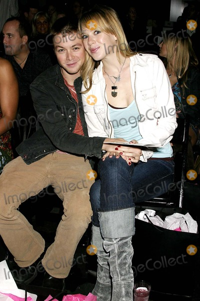 Annie Burgstede Photo - Cadillac Presents Rock and Republic Spring 2005 Fashion Show - Front Row Culver Studios Culver City CA 10292004 Photo by Clinton H WallaceipolGlobe Photos Inc 2004 Cole Williams and Annie Burgstede