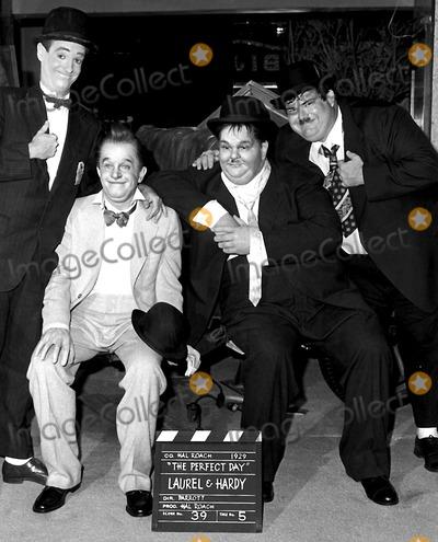 Stan Laurel Photo - Stan Laurel and Oliver Hardy Laurel and Hardy Photo ByGlobe Photos Inc