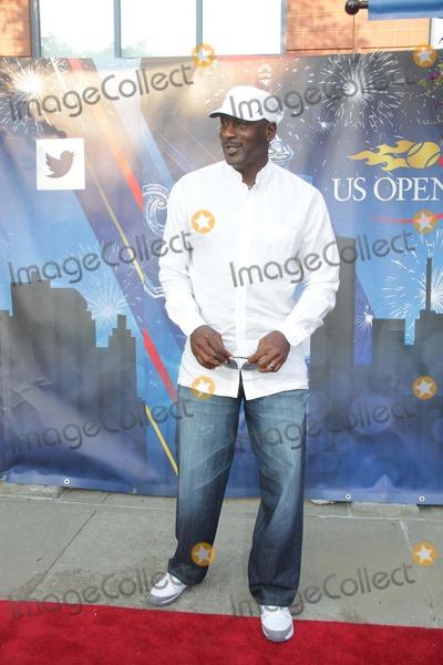 Michael Jordan Photo - Michael Jordan Celebrities at Day 2 of Tennis Us Open at Arthur Ashe Stadium 8-26-2014 John BarrettGlobe Photos
