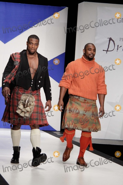 Ahmad Bradshaw Photo - Dressed to Kilt Presented by the Glenlivet (Runway) Hammerstein Ballroom NYC April 5 2011 Photos by Sonia Moskowitz Globe Photos Inc 2011 Ahmad Bradshaw