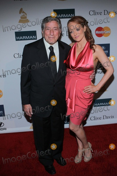 Antonia Bennett Photo - Tony Bennett Antonia Bennett Clive Davis and the Recording Academys 2012 Pre-grammy Gala Held at the Beverly Hilton  Los Angelescafebuary 11 -2012phototleopoldGlobephotos