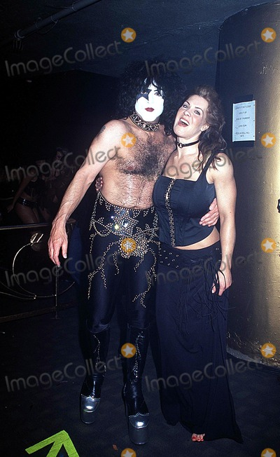 Paul Stanley Photo -  252002 the Big Kiss Fashion Event - Lane Bryants 2002 Lingerie Fashion Show with Special Musical Performance by Kiss at the Roseland Ballroom NYC Photo by Kelly JordanGlobe Photos Inc 2002 Paul Stanley Joanie Laurer