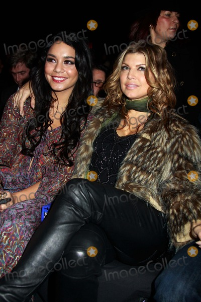 Anna Sui Photo - Anna Sui Fashion Show-fall 2011-celebrities Mercedes-benz Fashion Week Lincoln Centernyc February 16 2011 Photos by Sonia Moskowitz Globe Photos Inc 2011 Vanessa Hudgens Fergie