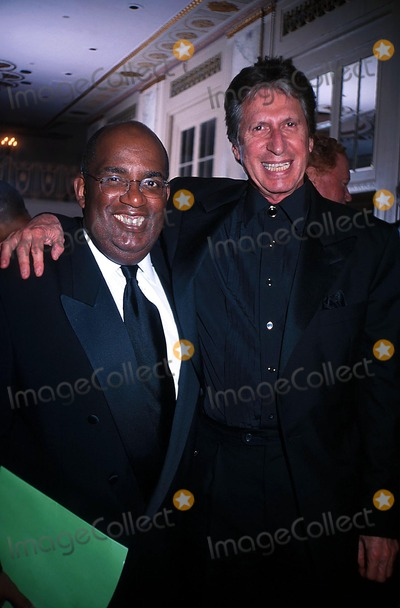 Al Roker Photo -  41702 the Sports Ball 2002 Sponsored by the Arthur Ashe Institute For Urban Health at the Waldorf Astoria in NYC AL Roker with David Brenner Photo by Mitchell LevyGlobe Photos Inc