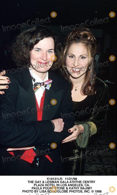 Kathy Najimy Photo -  112198 the Gay  Lesbian Gala Aththe Centry Plaza Hotel in Los Angeles CA Paula Poundstone  Kathy Najimy Photo by Lisa RoseGlobe Photos Inc
