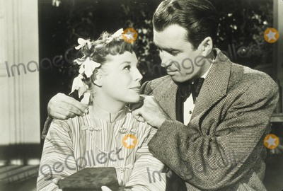 June Allyson Photo - Jimmy Stewart with June Allyson Supplied by Globe Photos Inc