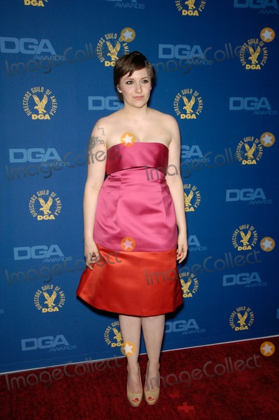 Lena Dunham Photo - Lena Dunham During the 65th Annual Directors Guild of America Awards Held at the Ray Dolby Ballroom on February 2 2013 in Los Angeles Photo Michael Germana  Superstar Images - Globe Photos