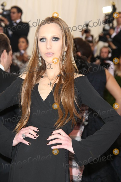 Allegra Versace Photo - The Costume Institute Gala at the Metropolitan Museum of Art Celebrating the Opening of Charles Jamesbeyond Fashion May 5 2015 Photos by Sonia Moskowitz Globe Photos Inc 2014 Allegra Versace