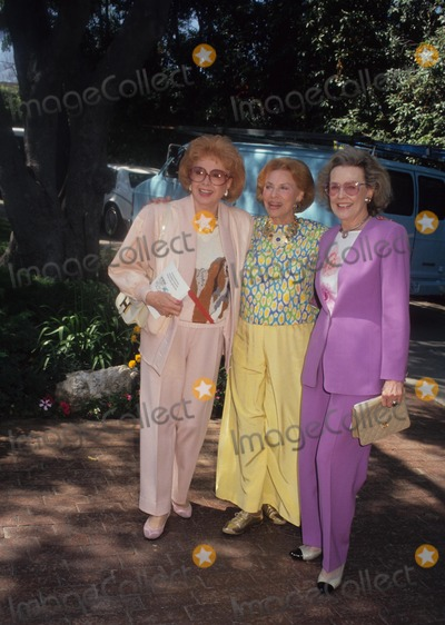 Audrey Meadows Photo - Audrey Meadows with Henry Backus and Frances Bergen Photo by Craig Skinner-Globe Photos Inc