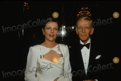 Fred Astaire Photo - Fred Astaire with Daughter Ava Astaire-mckenzie 1985 F0635 Supplied by Globe Photos Inc