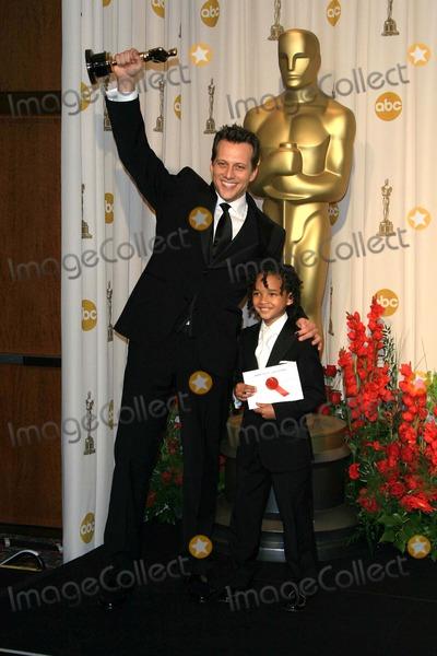 Ari Sandel Photo - the 79 Academy Awards  Oscars (Press Room) Held at the Kodak Theatre Hollywood CA 02-25-2007 Photo by Nina Prommer-Globe Photos 2007 Ari Sandel and Jaden Smith