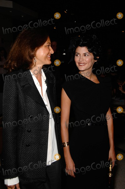 Anne Fontaine Photo - Anne Fontaine and Audrey Tautou during the premiere of the new movie from Sony Picture Classics COCO BEFORE CHANEL held at the Pacific Design Center Silver Screen Theatre on September 9 2009 in West Hollywood CaliforniaPhoto Photo By Michael Germana - Globe Photos IncK62863MGE