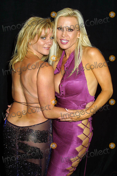 Ginger Lynn Photo - - Night of Stars - Porn Stars - Marriott Hotel Woodland Hills CA - 07122003 - Photo by Clinton H Wallace  Ipol  Globe Photos Inc 2003 - Ginger Lynn  Amber Lynn