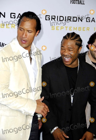 Alvin Xzibit Joiner Photo - Dwayne the Rock Johnson and Alvin Xzibit Joiner During the Premiere of the New Movie From Columbia Pictures Gridiron Gang Held at Graumans Chinese Theatre on September 5 2006 in Los Angeles Photo Michael Germana-Globe Photosinc