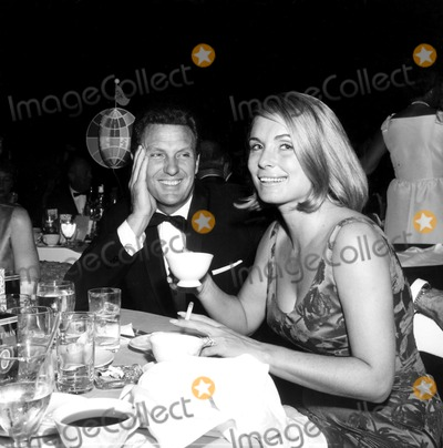 Madness Photo - Robert Stack and Wife Rosemarie at the Mad Party f731-6a Globe Photos Inc Robertstackretro