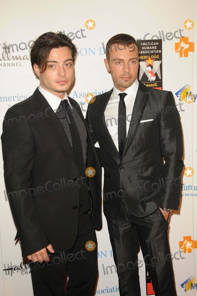 Andrew Lawrence Photo - Andrew Lawrence Joey Lawrence attending the Inaugural American Humane Association Hero Dog Awards Held at the Beverly Hilton Hotel in Beverly Hills California on 100111 Photo by D Long- Globe Photos Inc