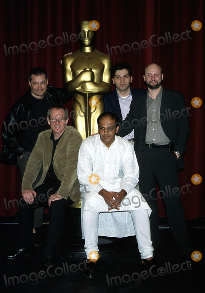 Ashutosh Gowariker Photo -  Foreign Language Film Nominee Directors Ampas Beverly Hills CA 03222002 Danis Tanovicpeter Naessashutosh Gowarikerjean Pierre Jeunet and Jaun Jose Campanella Photo by Milan RybaGlobe Photosicn