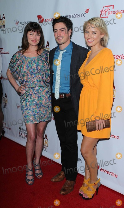 Kat Coiro Photo - Ben Feldman Nicky Whelan Kat Coiro Attend Departure Date Los Angeles Premiere on the 11th June 2012 at the Regal Cinemas LA cityusaphototleopoldGlobephotos