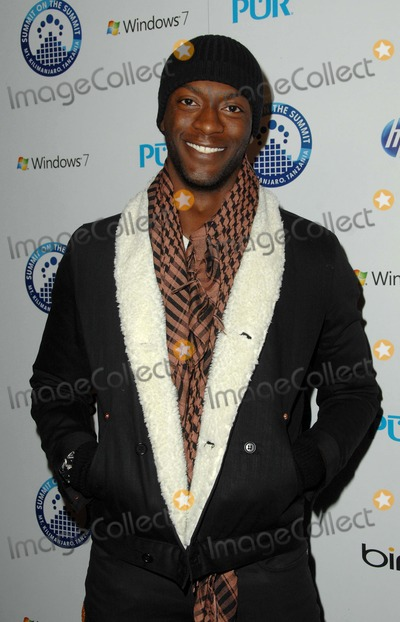 Aldis Hodges Photo - Summit to Summit Kilimanjaro Pre-ascent Event at Voyeur in West Hollywood CA 12-09-2009 Photo by James Diddick-Globe Photos  2009 Aldis Hodge