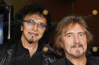 Tony Iommi Photo - Tony Iommi Geezer Butler Black Sabbath Iron Man Los Angeles Premiere Graumans Chinese Theatre 04-30-2008 Photo by Graham Whitby Boot-allstar-Globe Photos