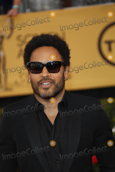 Lenny Kravitz Photo - Singer Lenny Kravitz Arrives at the 21st Annual Screen Actors Guild Awards- Sag Awards - in Los Angeles USA on 25 January 2015 Photo Alec Michael