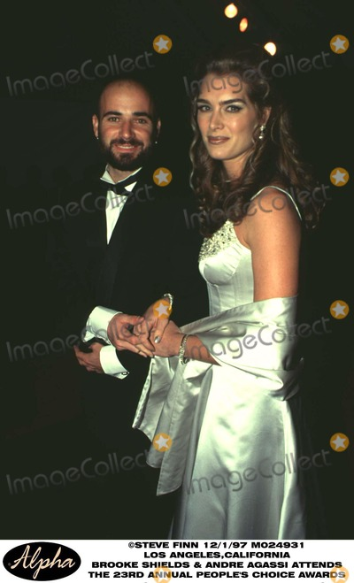 Andre Agassi Photo - Brooke Shields  Andre Agassi