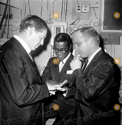 Milton Berle Photo - -1a Milton Berle with Sammy Davis Jr and Garry Crosby Supplied by Globe Photos Inc