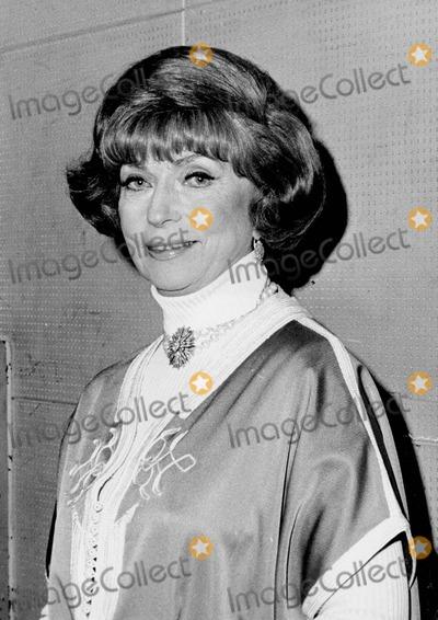 Agnes Moorehead Photo - Agnes Moorehead Photo by Irv Steinberg-Globe Photos Inc