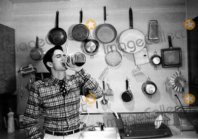 Anthony Perkins Photo - Anthony Perkins Jack StagerGlobe Photos Inc