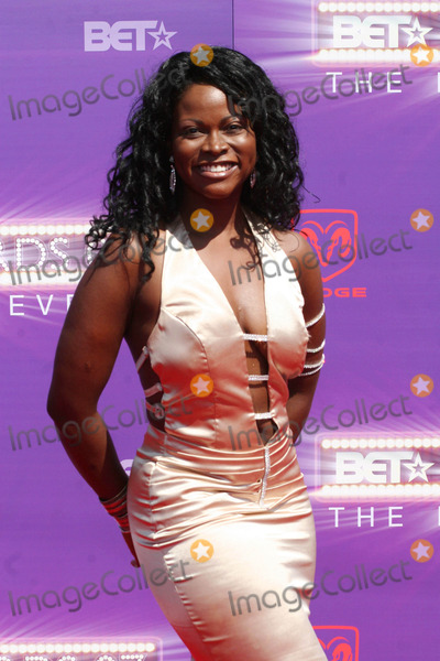 Abiola Abrams Photo - Abiola Abrams Pictured Arriving on the Red Carpet For the 2007 Bet Awards in Hollywood California at the Shrine Auditourium on 06-26-2007 Photo by Sophia Jones-Globe Photos Inc