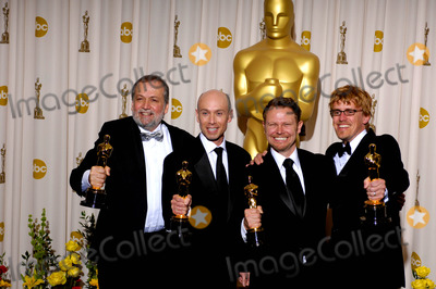 Andrew R Jones Photo - Joe Letteri Stephen Rosenbaum Richard Baneham and Andrew R Jones During the 82nd Academy Awards Held at the Kodak Theatre on March 7 2010 in Los Angeles Photo Michael Germana - Globe Photos Inc 2010