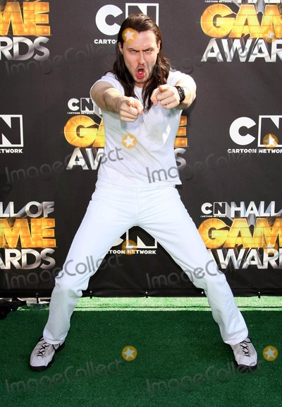 ANDREW WK Photo - Andrew Wk Actor 1st Annual Hall of Game Awards Hosted by the Cartoon Network the Barker Hanger Santa Monica CA 02-21-2011 photo by Graham Whitby Boot-allstar - Globe Photos Inc 2011