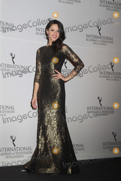 Annet Mahendru Photo - Annet Mahendru Attend the 2014 Internation Emmy Awards at New York Hilton Hotel on 11242014 in NYC Photo Mitch Levy Photo by Mitch Levy- Globe Photos Inc