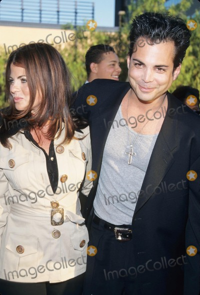 Yasmine Bleeth Photo - Richard Grieco with Yasmine Bleeth at the Nutty Professor Premiere in Los Angeles 1996 K5492tr Photo by Tom Rodriguez-Globe Photos Inc